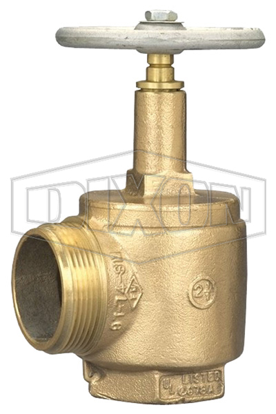 Domestic Brass Angle Hose Valve Male Outlet