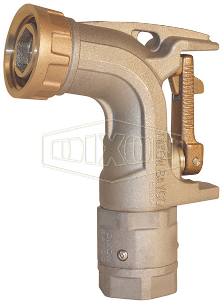 Ball Nozzle for Bulk Delivery with Quick Fill Nut