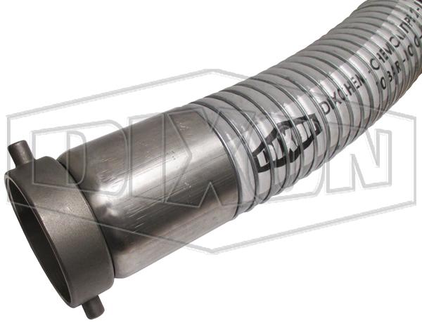 DIXCHEM A906 PG 14 Bar Composite Chemical Hose Assembly