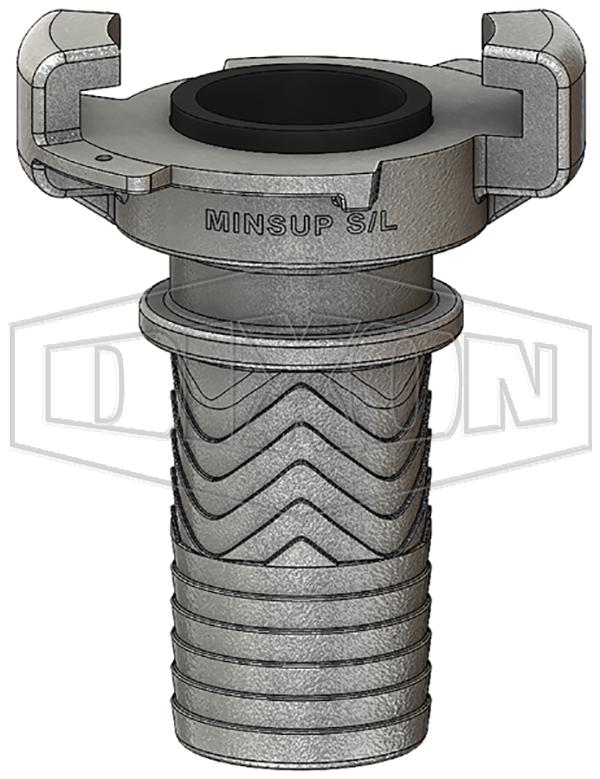 Minsup® Surelock® Hose End Cor-O-Zig Pattern