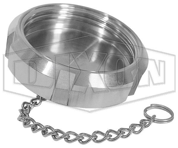 DIN Blank Nut with Chain