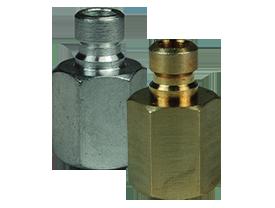 DQC CM-Series Industrial Mold Interchange Plug Female NPTF