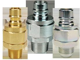 DQC V-Series Snap-Tite H/IH Interchange Valved Male Plug