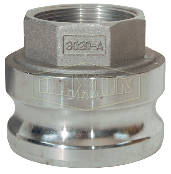 Global Cam & Groove Jump Size Type A Adapter x Female NPT