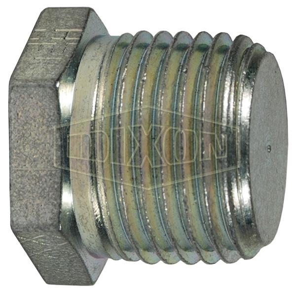 Male NPTF Hex Plug