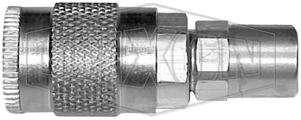 J-Series Automotive Pneumatic Manual Coupler Reusable Hose Barb