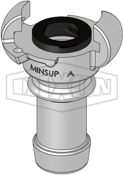 Minsup® A Type Hose End
