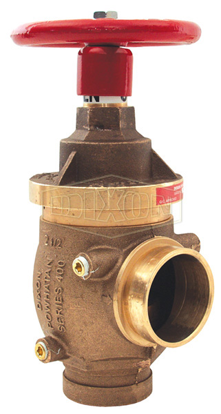 Factory Set Pressure Reducing Brass Angle Valve Grooved x Grooved