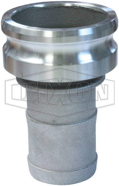 Cam & Groove Reducing Type E Adapter x Hose Shank