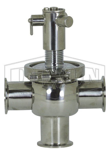 SV-Series Single Seat Hygienic Valve T Body Manual