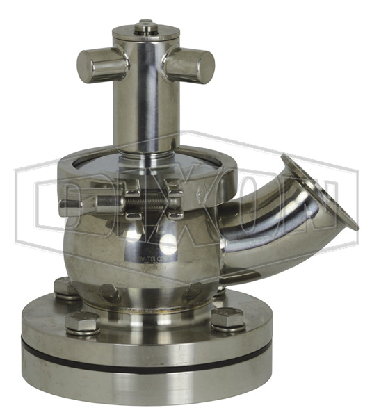 SV-Series Single Seat Hygienic Valve Tank Body Up to Open Manual
