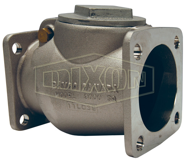 Bayco Classic 3000 Series Swing Check Valve Square TTMA Flange