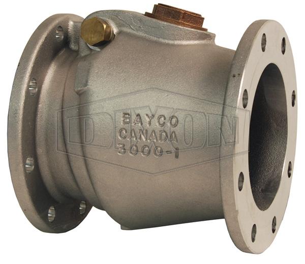 Bayco Classic 3000 Series Swing Check Valve Round TTMA Flange