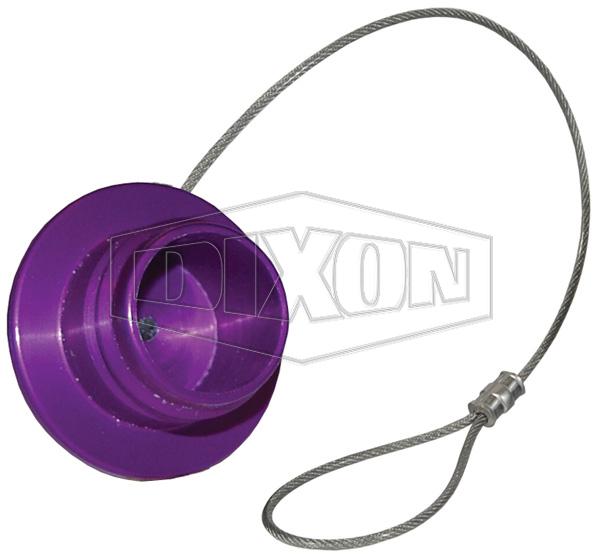Dixon TN-Plug Violet Transmission Nozzle Plug Anodized Alum