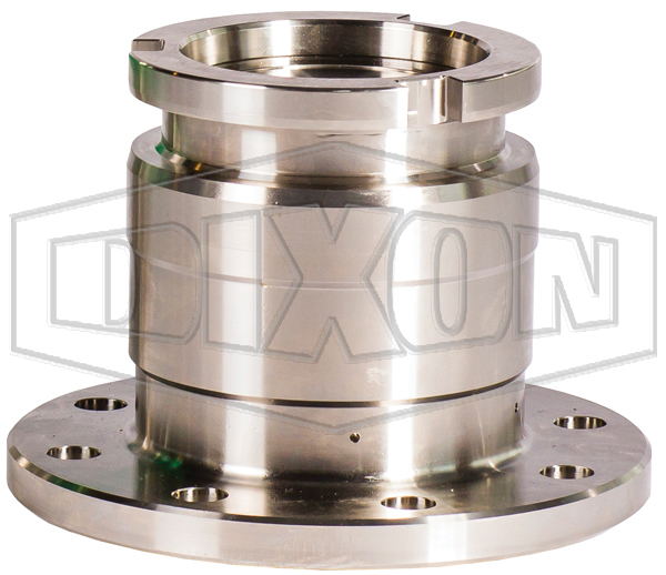 Dixon MannTek Cryogenic Dry Disconnect Adapter-Tank Unit x 150# Flange