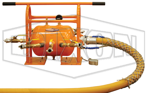 air receiver manifold with king safety whipsock