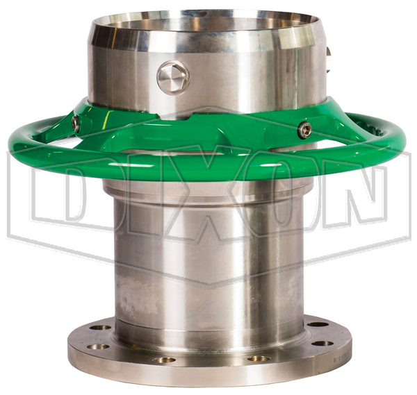Mann Tek Cryogenic Dry Disconnect Coupler-Hose Unit x 150# Flange