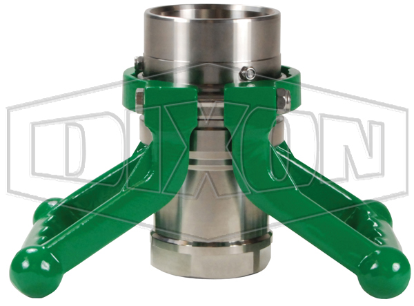 Dixon® Cryogenic Dry Disconnect Coupler-Hose Unit x Female NPT