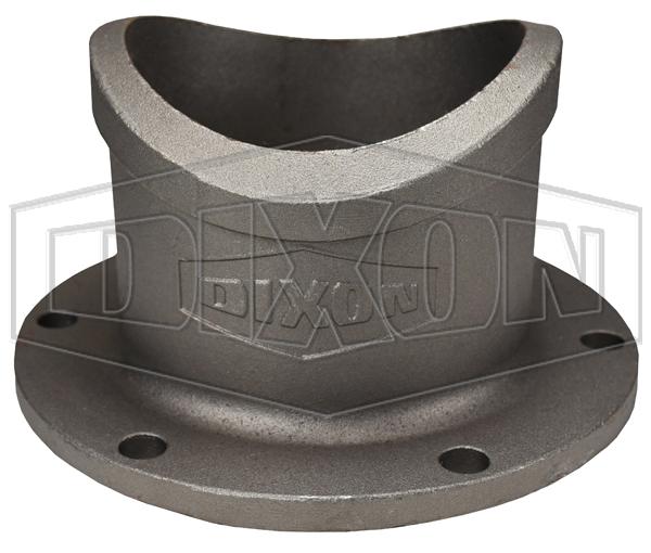 one piece flange x weld adapter
