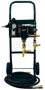 Pneumatic Hydrostatic Test Pump
