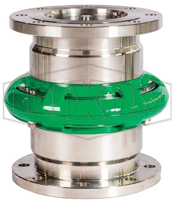 Mann Tek Cryogenic Safety Break-away Coupling-150# Flange
