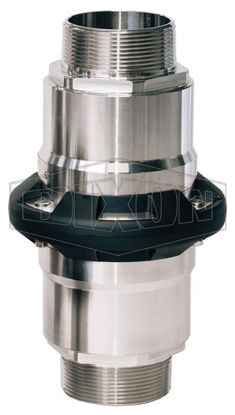 Dixon® Safety Break-away Coupling Industrial Male NPT